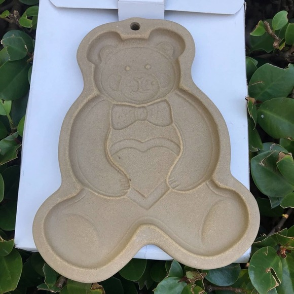 VTG Pampered chef Teddy bear cookie mold